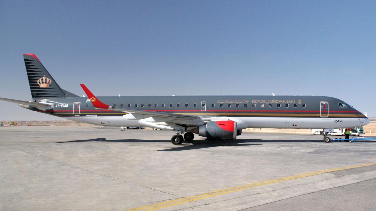 الملكية الأردنية تختار شركة هوكر باسيفيك لتنفيذ أعمال الصيانة لمعدات الهبوط