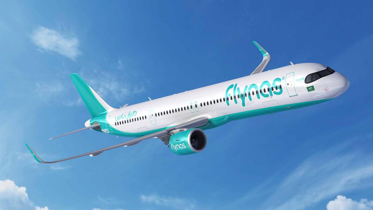 طيران ناس توقع اتفاقية لشراء 10 طائرات إيرباص A321XLR