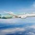 أول طائرة بوينغ غرينلاينر تحط الرحال في مطار أبوظبي الدولي