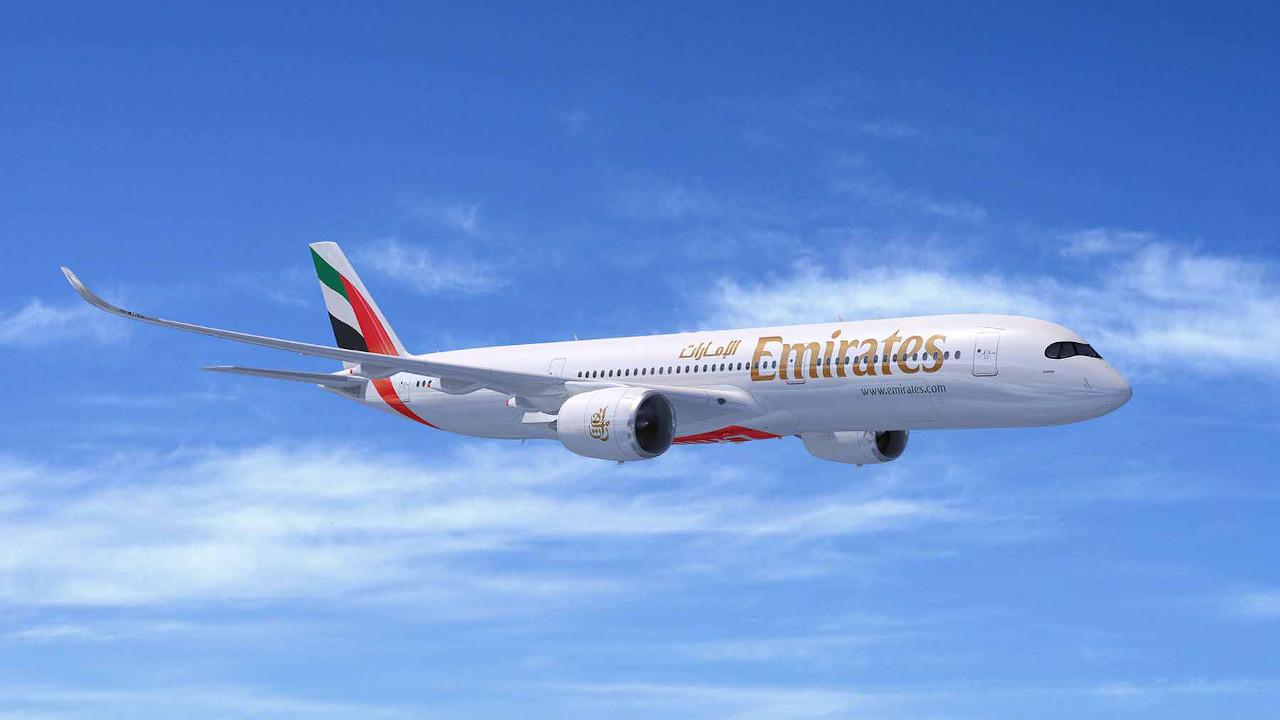 طيران الإمارات يوقع اتفاقية لشراء 50 طائرة A350 من إيرباص