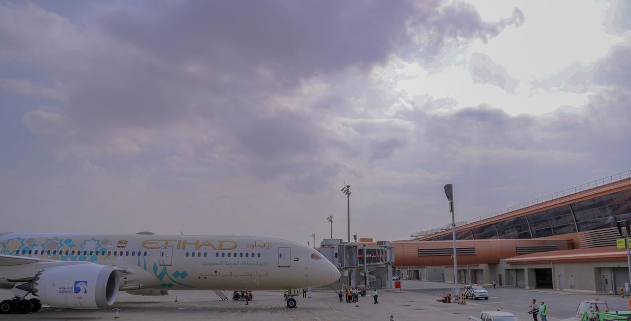 مبنى المسافرين1 الجديد في مطار جدّة يرحّب بالاتحاد للطيران