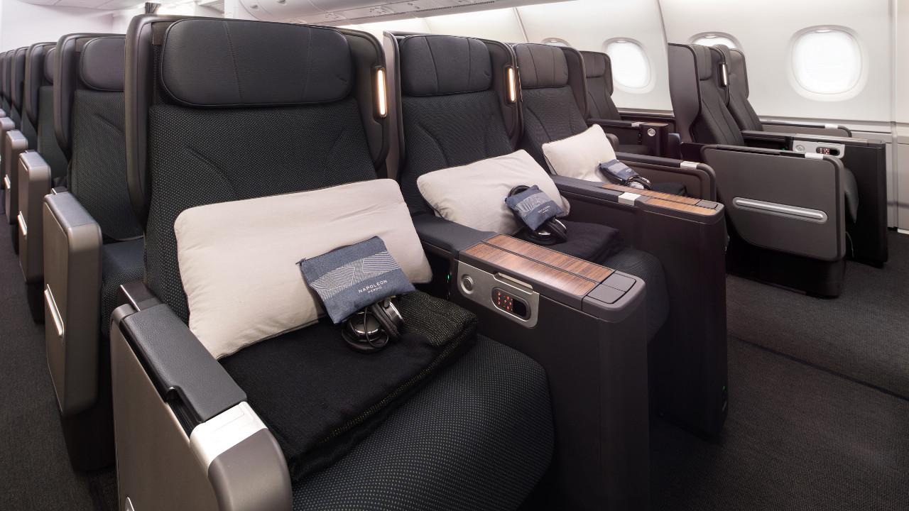 شاهد المقصورة المحدثة لطائرات A380 التابعة لطيران كوانتاس