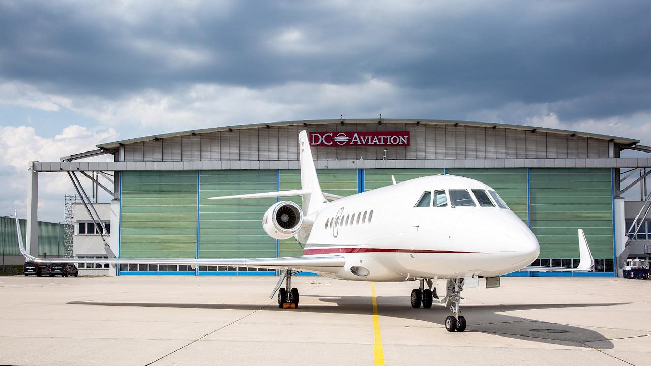 مجموعة دي سي أفييشن تعزز أسطولها بطائرة طائرة داسو فالكون 2000 اس
