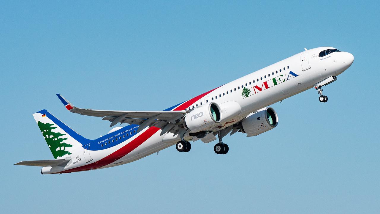 الخطوط الجوية اللبنانية تتسلّم أول طائرة من طراز إيرباص A321neo