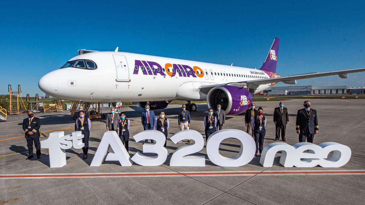 إير كايرو تستلم أولى طائراتها من طراز A320neo