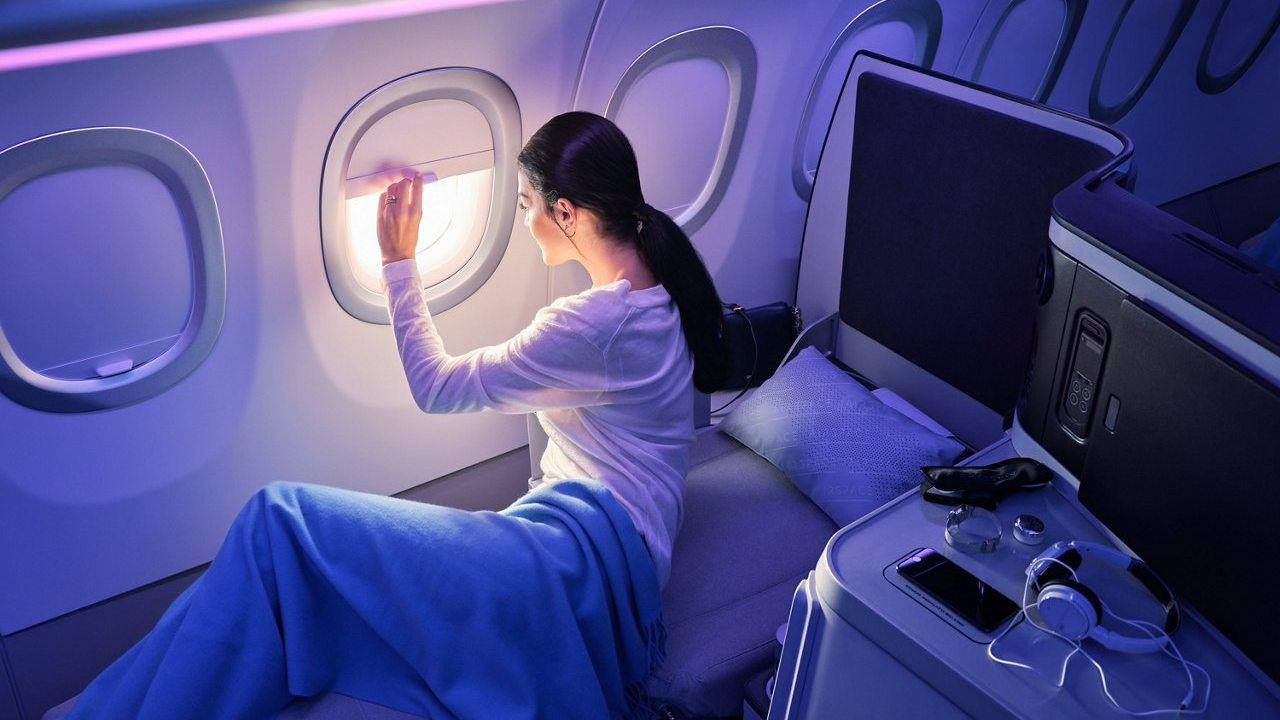 شاهد جمال المقصورة الداخلية لطائرة إيرباص A320 التابعة لخطوط جت بلو