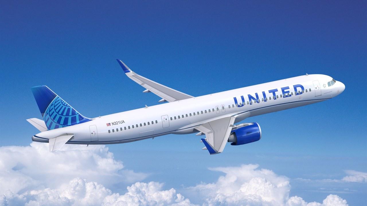 يونايتد إيرلاينز تطلب 70 طائرة من طراز إيرباص A321neo
