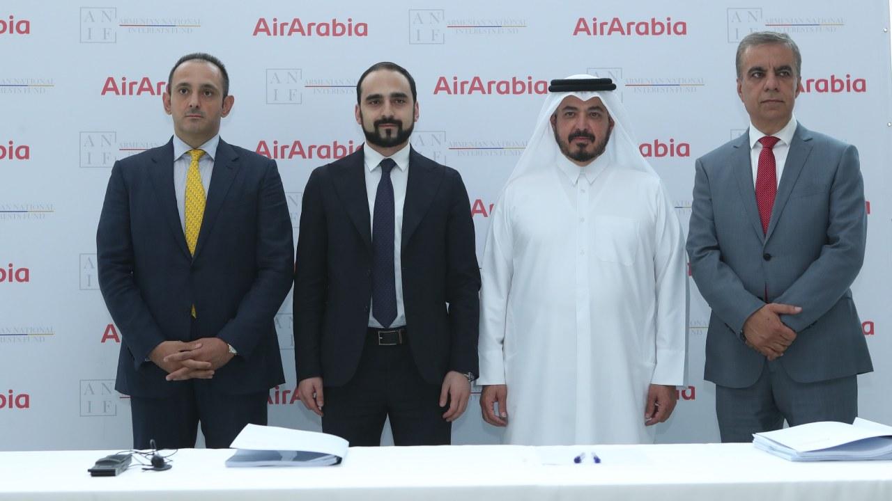 العربية للطيران تساهم في إطلاق شركة طيران وطنية جديدة في أرمينيا